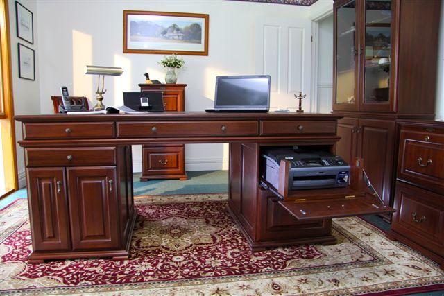 Bridgeton Home Office Furniture Stylish Timber Desks